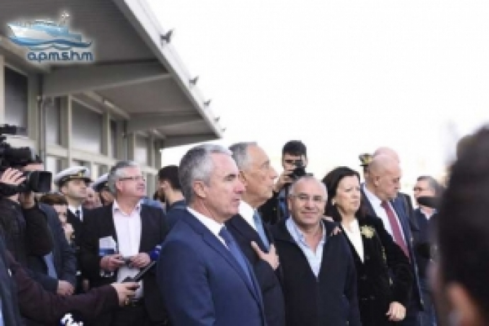 Presidente da República vem reconhecer mérito de associação ligada ao mar